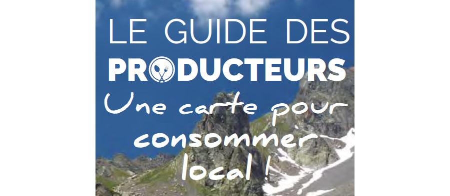 Carte des producteurs en vente directe