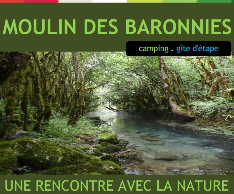 Le Moulin des Baronnies - camping et gîte d